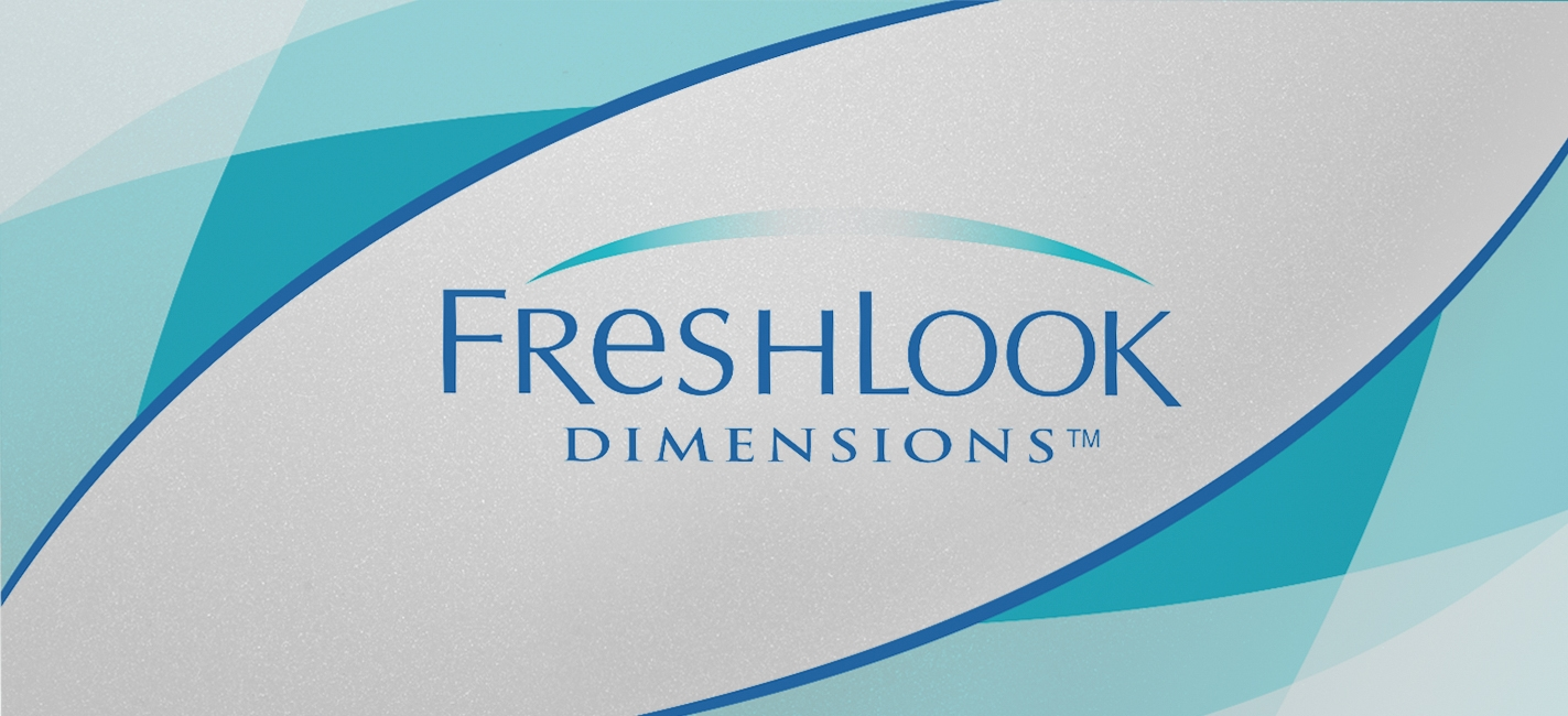 FRESHLOOK DIMENSIONS MONTHLY 2 PACK - Freshlook Dimensions (6 lenses/box)
